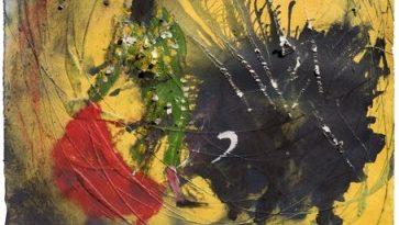 Miquel Barceló añade a su obra taurina el cartel de la corrida de José Tomás en Granada