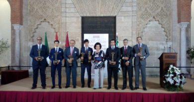 Sevilla: en los Reales Alcázares entrega de trofeos Puerta del Príncipe de la Feria 2019
