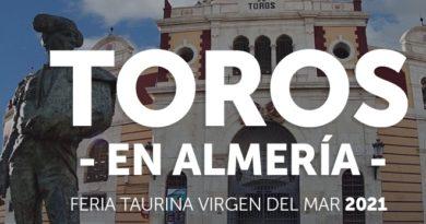 Almería anuncia su feria 2021 con dos corridas sólo, pero con grandes combinaciones